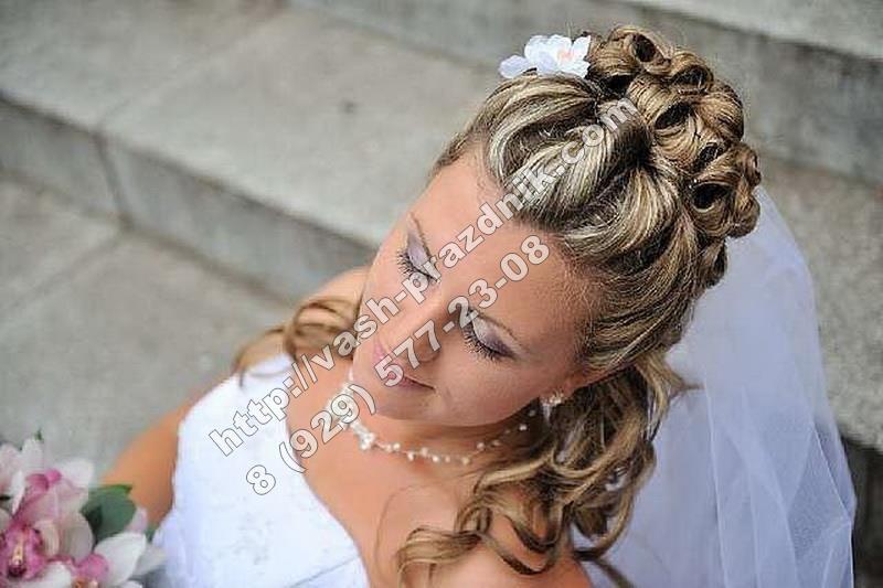 услуги парикмахера свадебные прически на дому в москве