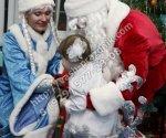 Дед Мороз и Снегурочка Грибки