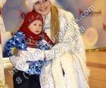 Дед Мороз и снегурочка Барвиха