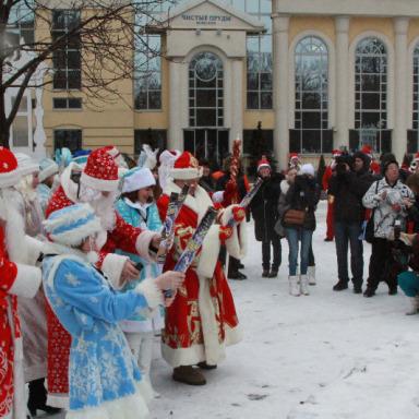 Дед Мороз Лобня